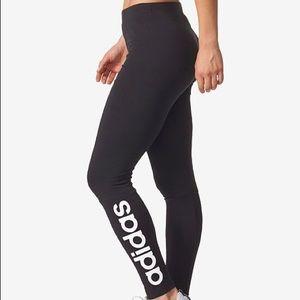 Adidas Black Leggings Small